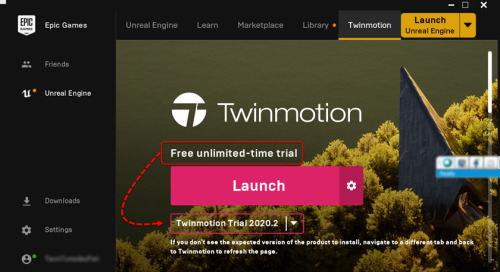 How to determine if Twinmotion is activated and how to activate Twinmotion if it is not already activated