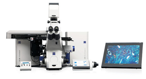 "ZEISS laser manipulation system based on Nobel Prize-winning ""optical tweezer"" technology"