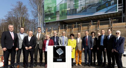 Foundation stone ceremony for world-class high-resolution microscopy centre in Heidelberg