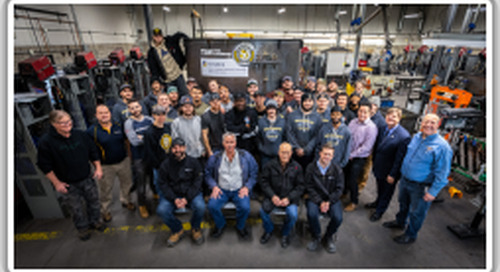 TIW Steel Platework Inc. donates tank to Humber College apprentices
