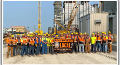 Contractor-Boilermaker connection yields man-hour, morale-boosting project