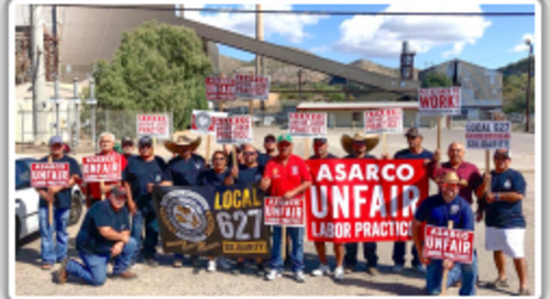 Nine-month strike ends for Local 627 ASARCO workers