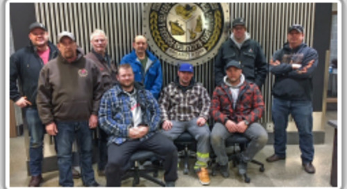 Boilermakers brave Arctic temps for master rigging training