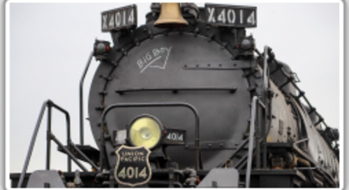 Boilermakers restore Union Pacific's steam behemoth