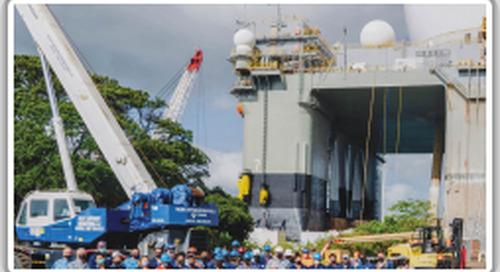 Pacific Shipyard International overhauls one-of-a-kind ship