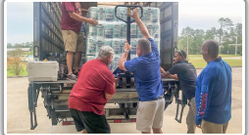 Local 37 opens doors to aid AFL-CIO disaster relief efforts