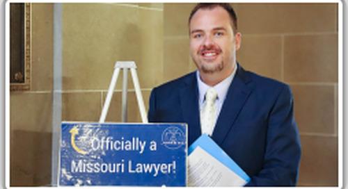 COS Brown sworn into Missouri State Bar