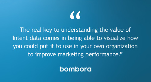 Enterprise Marketing: How to accelerate B2B growth with Intent data