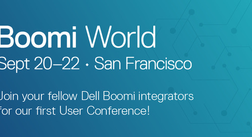 Less Than One Week to Boomi World!  Learn Integration Insights From More Than 20 Boomi Customers