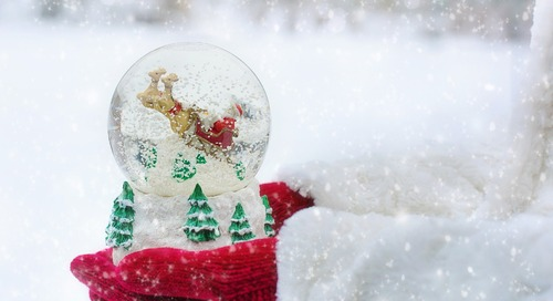 No Elf Here — We Have Snow Globes Instead