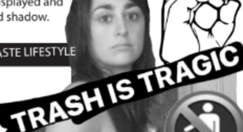 NOVEMBER COMPASS: Trash Is Tragic