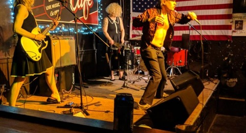 Went There: Tommy and The Commies, Les Lullies, & The Monsieurs @ Midway Cafe 4/10/19