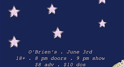 6/3: Roy Juno, TC Superstar, Will Orchard, Carol at O'Briens Pub