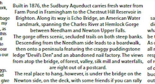 Boston Compass #114: Places You Can Hang // Echo Bridge