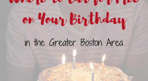 Where to Eat Free on Your Birthday in Boston