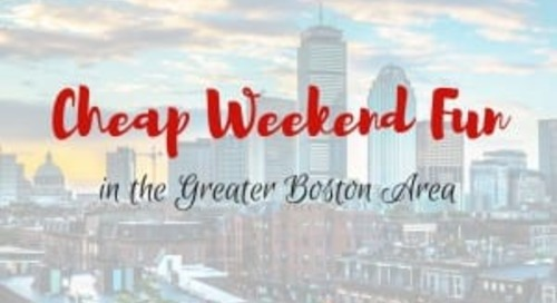 Cheap Weekend Fun in Boston for October 27-28, 2018!