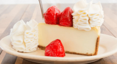 Free Cheesecake Slices from The Cheesecake Factory Delievered on Wednesday!