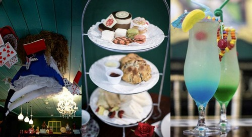New Alice in Wonderland-Themed Tea Room Opens at Patriot Place