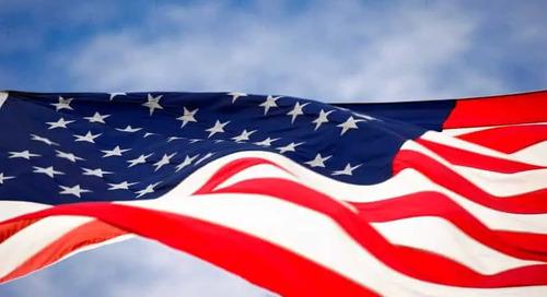 Boston Celebrates Memorial Day with Flags in Boston Common, Fenway