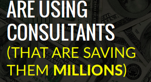 eBook: 6 New Ways To Use Consultants