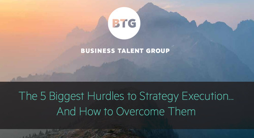 [eBook] 5 Ways to Make Strategy Execution Easier