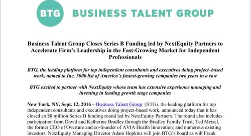 NextEquity Leads $8MM Funding Round