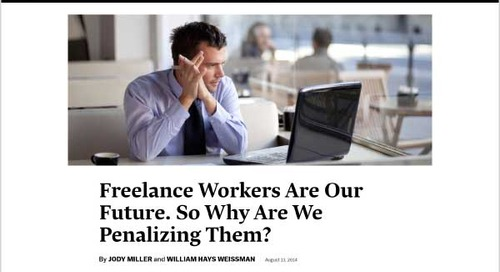 Freelance Workers Are Our Future. So Why Are We Penalizing Them?