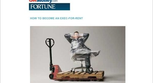 How to Become an Exec-For-Rent