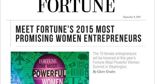 Meet Fortune's 2015 Most Promising Women Entrepreneurs
