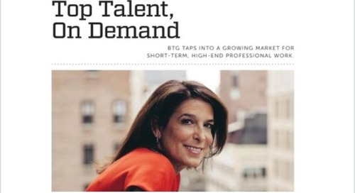 Top Talent, On Demand