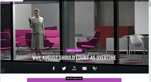 Why August Should Count as Overtime