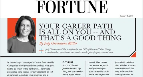 Your Career Path is All on You—And That's a Good Thing