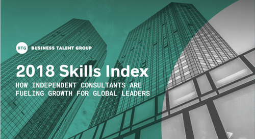 Business Talent Group Releases 2018 Skills Index
