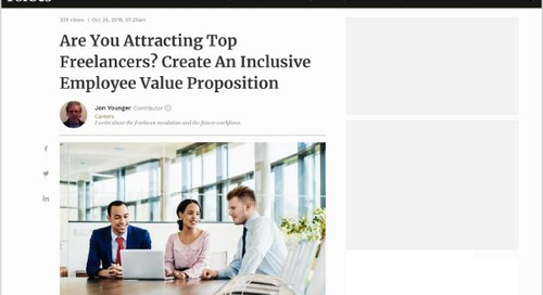 Are You Attracting Top Freelancers? Create An Inclusive Employee Value Proposition