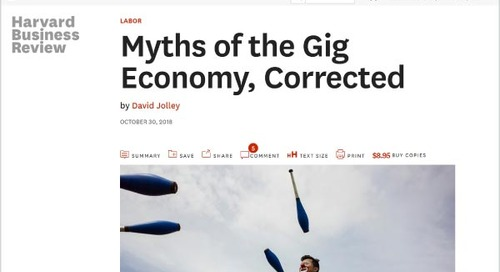 Myths of the Gig Economy, Corrected