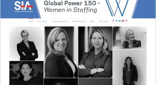 BTG CEO Named to SIA Global Power 150 List of Women in Staffing