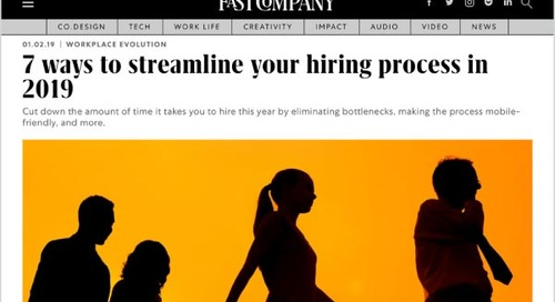 7 Ways to Streamline Your Hiring Process in 2019