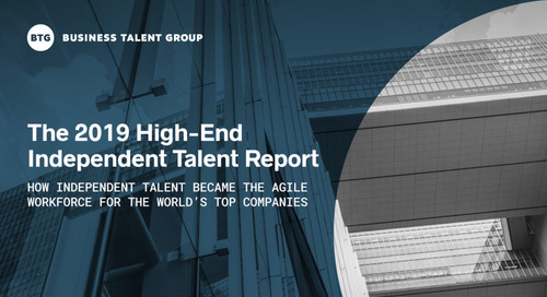 [Report] 2019 Independent Talent Trends, Revealed