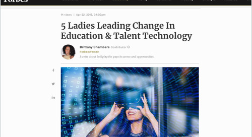 5 Ladies Leading Change In Education & Talent Technology