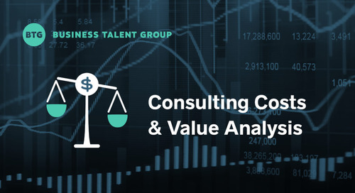 Consulting Costs and Value Analysis: On-Demand Talent vs. Traditional Firms