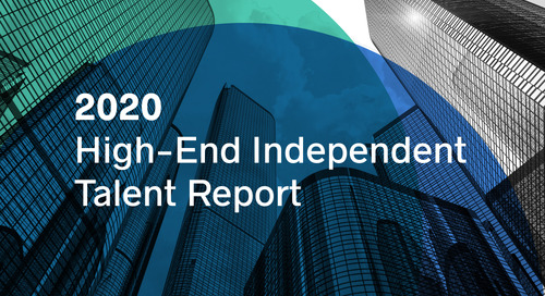 BTG Releases 2020 High-End Independent Talent Report