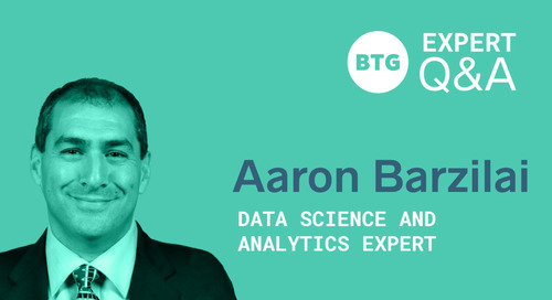 Building Data Science Applications: A Q&A With Aaron Barzilai