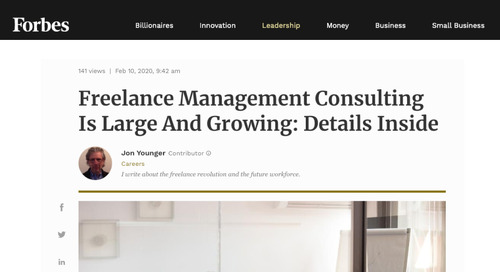 Freelance Management Consulting Is Large and Growing: Details Inside