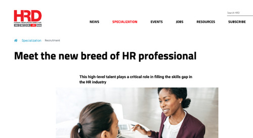 Meet the New Breed of HR Professional