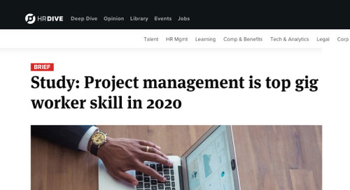 Study: Project Management is Top Gig Worker Skill in 2020