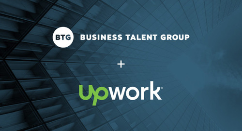 BTG Announces Exclusive Collaboration with Upwork