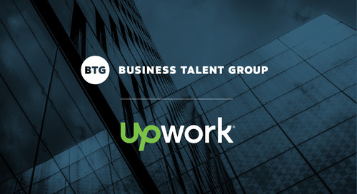 Ensure Every M&A Is Successful with On-Demand Talent from Business Talent Group and Upwork
