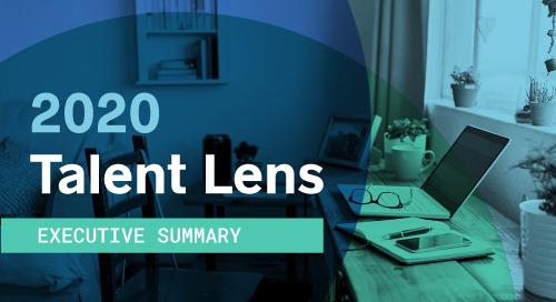 2020 Talent Lens Executive Summary