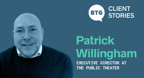 BTG Client Stories: The Public Theater Finds an Interim CFO