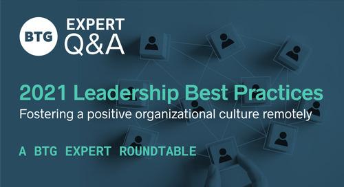 2021 Leadership Best Practices